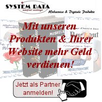 SYSTEM DATA - Partnerprogramm